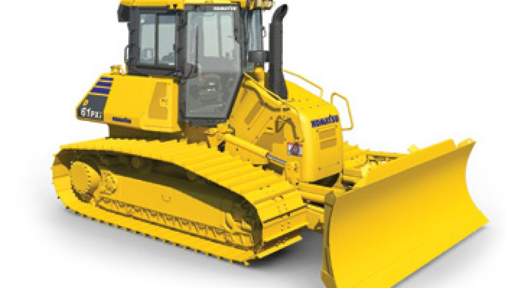 New D61i-23 equipped with first fully automatic blade control. Copyright Komatsu